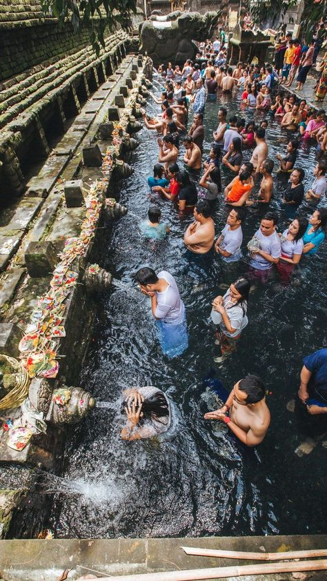 tirta empul water temple #indonesia #southeastasia #asia #travel #bali