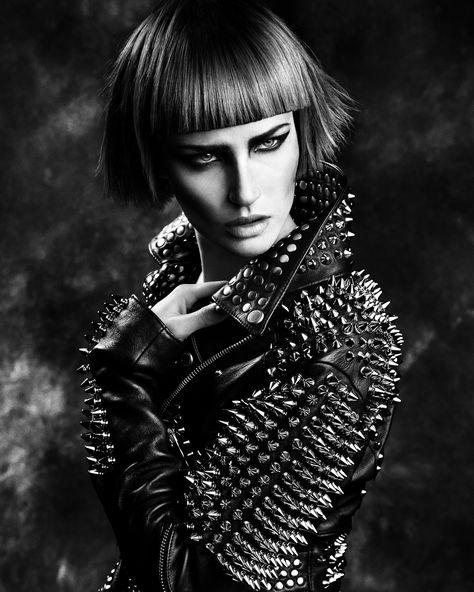 Hair  The Mark Leeson Artistic Team    Make-up  Maddie Austin    Photography  Paul Scala    Styling  Bernard Connolly