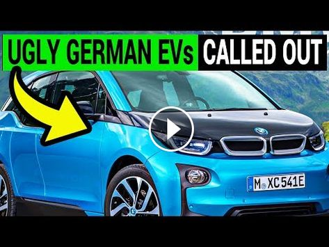 German Evs Called Out For Ugly Design By Government Official German