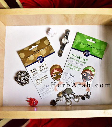 مدونة اي هيرب بالعربي ماسك الفحم والذهب من اي هيرب وماهي تجربتي معهم Gold Mask Clay Masks Gold