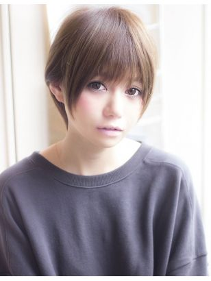 Afloat 鈴木司 前髪狭めの小顔ショート ショートのヘアスタイル