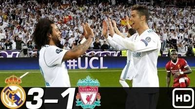 Real Madrid Vs Liverpool Full Match With Images Real Madrid
