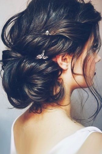 39 Best Pinterest Wedding Hairstyles Ideas Wedding Forward Bridal Hair And Makeup Bridal Makeup For Brunettes Wedding Hair Side