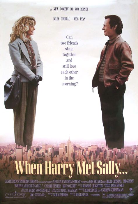 Cuando Harry Encontró A Sally 1989love This Movie En