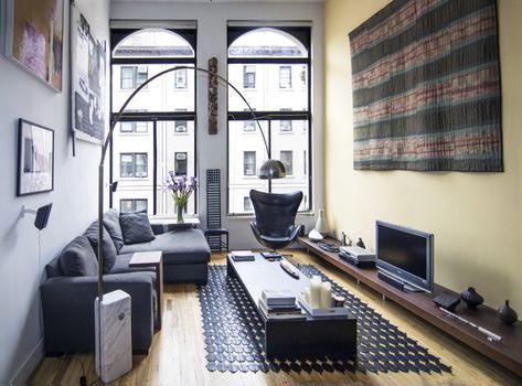 Wohnzimmer einrichten – Tipps für lange, schmale Räume ...