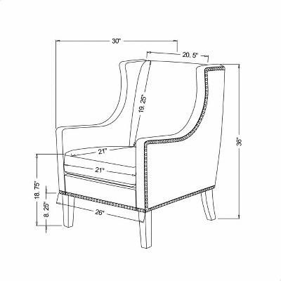 Lumbar Support For Office Chair Cheapdiningroomchairs Wingbackchair Chair Armchair Furniture Wingback Chair