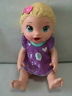 2015 Baby Alive Super Snackin Lily Baby Doll Blonde Baby Alive Baby Alive Dolls Baby Dolls