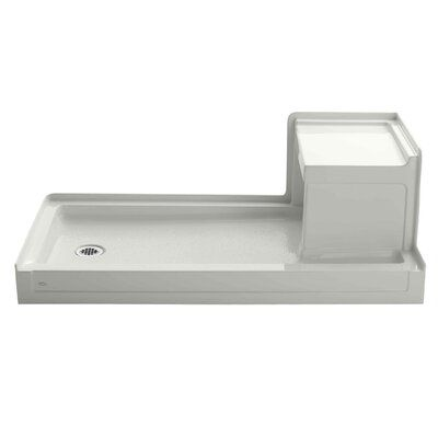 Kohler Tresham 60 X 32 Single Threshold Left Hand Drain Shower
