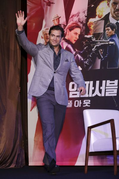 Henry Cavill attends the 'Mission: Impossible - Fallout' Korea Press Conference and Photo Call at Lotte Hotel Seoul on July 16, 2018 in Seoul, South Korea. - 1 of 56