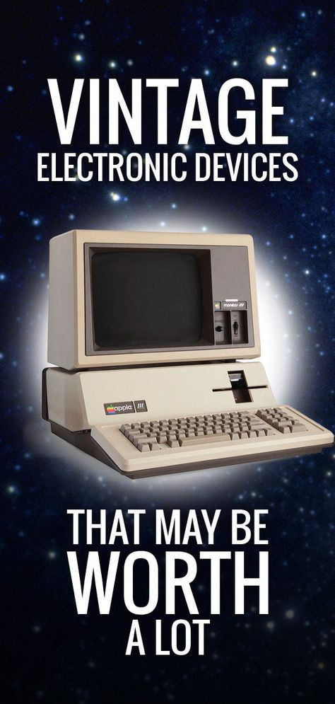 Here are some of the most expensive vintage electronic devices.