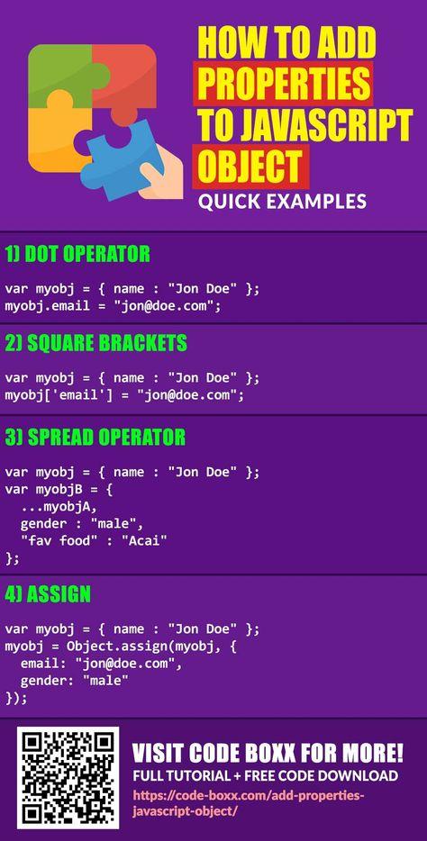 Add Properties To Javascript Object
