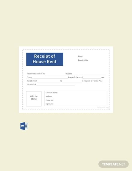 Instantly Download Free Receipt Template Sample Example Of House Rent In Pdf Microsoft Word Doc Apple P Receipt Template Free Receipt Template Templates