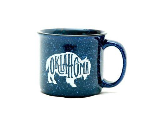 16oz Bistro Mug Ceramic Coffee Tea Glass Cup Keep Calm and Love Elephants