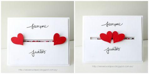 Card. Cardmaking. Tarjeta. Tarjetería. Love. San Valentin. San Valentine. Heart. Corazon. Lorabailora Stamps. Sellos Lorabailora.