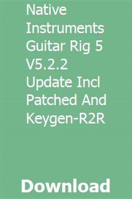 guitar rig 5 vst free download