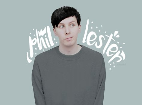 Phil Lester does not get enough fandom as Dan does!!! SPREAD IT WITH ME!!!!