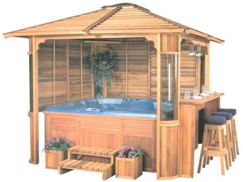 Phils Pool Und Spa Center Pavillons Und Holzgehege 640x482 Pools Und Spas Travel Blog 2019 Whirlpool Im Freien Whirlpool Pool