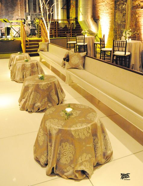 Avon Theater Birmingham Al Dance Floor With Pews And Uplighting The Pinterest Event Company Wedding Planners