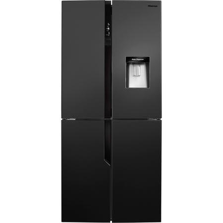 Hisense Rq560n4wb1 431 Litre American Style Fridge Freezer Water Dispenser 4 Door 80cm W In 2020 American Style Fridge Freezer American Fridge Freezers American Fridge
