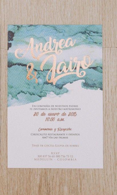Pin En Invitaciones De Matrimonio