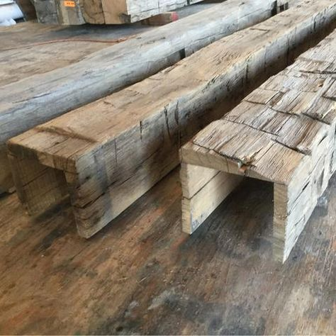 E&K offers a wide selection of Reclaimed Wood Beams, Hand Hewn Beams. We can make Box Beams. Species include Oak Beams, Beech, Fir, Pine and other species.