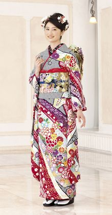 Hulisode long sleeved formal kimono single women only  sc 1 st  Pinterest & Pin by Beautiful World of Kimono on ?????????/Full ...
