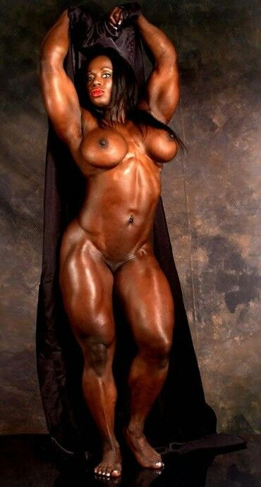 Naked massive muscle womens theme.... something