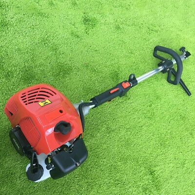 52cc Gas Power Handhold Walk Behind Sweeper Broom Turf Lawns Driveway Cleaning