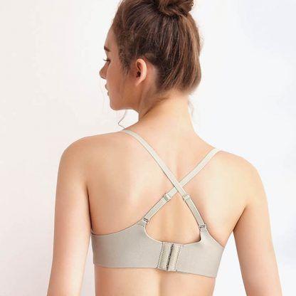 New Women/'s Bra Skin-friendly Seamless Brassiere Breathable Wire Free Lingerie