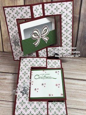 Swing Fold Gift Card Holder Create Something Beautiful Christmas Gift Card Holders Birthday Gift Card Holder Gift Card Holder Template