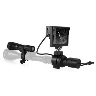 Wgx3 Tactical Digital Diy Night Vision Scope With Camera Displayresolution Digital Night Vision Scope With Camera And 5 Inch Dis Night Vision Digital Tactical