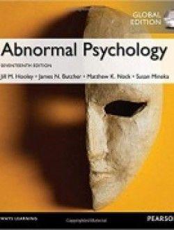 Abnormal Psychology Global Edition Pdf Abnormal Psychology