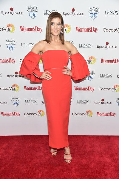 Kate Walsh attends the 2016 Woman's Day Red Dress Awards.