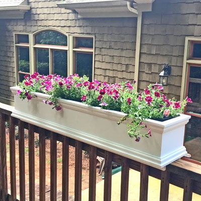 Window Box Hanging Planter Balcony Planters Balcony Railing