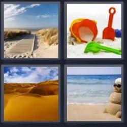 Desierto Playa Respuesta Actualizada 4 Fotos 1 Palabra Fotos