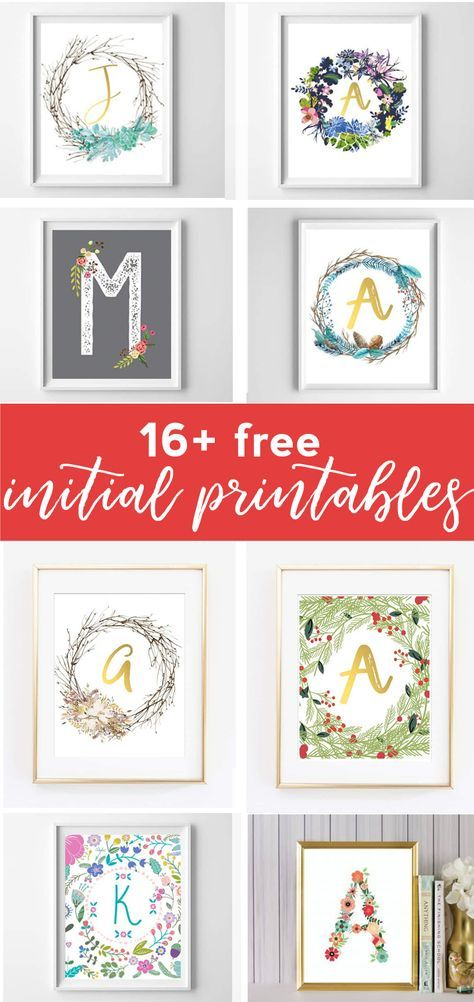 picture relating to Free Printable Wall Art Decor called totally free printable artwork alphabet printables to start with printable