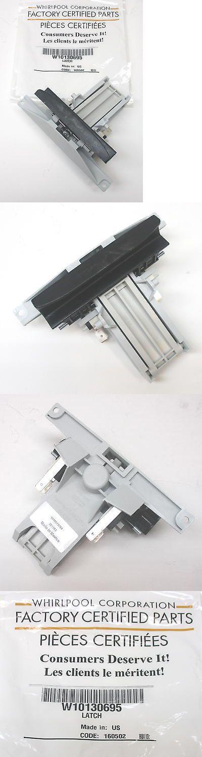 Whirlpool Maytag Wpw10130695 Dishwasher Door Latch Handle Black Door Latch Latches Dishwasher Parts