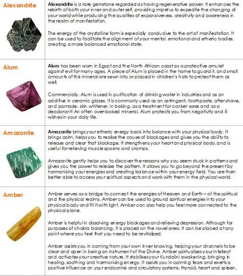 Metaphysical Properties And Healing Meanings Of Crystals A