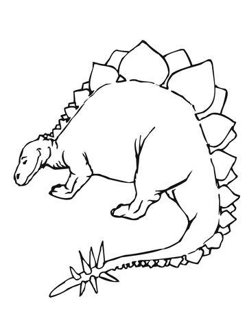 Quatang Gallery - Kleurplaat Dino Kleurplaten Dinosaurus Werkbladen