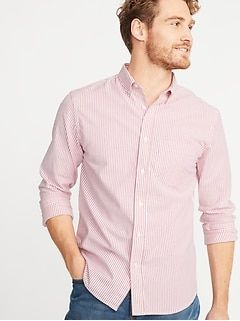 Slim-Fit Built-In Flex Everyday Oxford Shirt For Men  8a5ed1a54