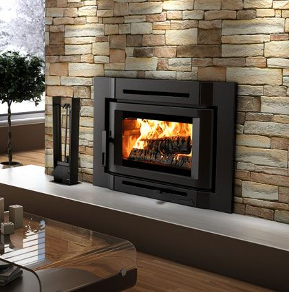 Install New Fireplace Insert For The Winter Burning Season Wood Burning Insert Wood Burning Fireplace Inserts Fireplace Inserts