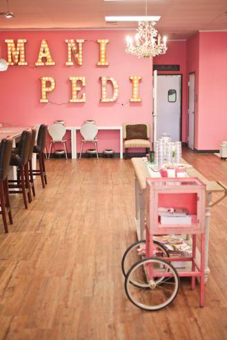 Home Nail Salon Decorating Ideas | Nail Technician Rooms | Salon Flooring  Ideas | Get Organized: Home Nail Salon U0026 Nail Station Ideas | Pinterest |  Nail ...