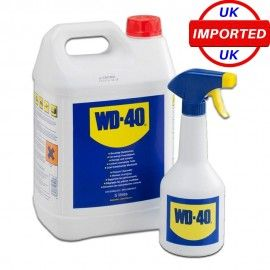 Wd40 Multi Purpose Lubricant 5ltr Dispenser Cleaning Supplies Cleaning Spray Bottle