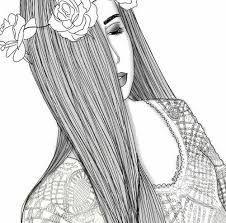 Resultado De Imagem Para Desenhos De Vestidos Tumblr Para Colorir