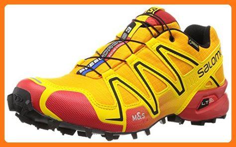 cheap salomon speedcross 3 shoes gold