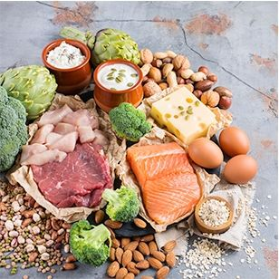 high protein diet joint pain