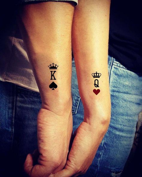 25 Unique Couple Tattoos Ideas for Lovers - Disqora #coupletattoos