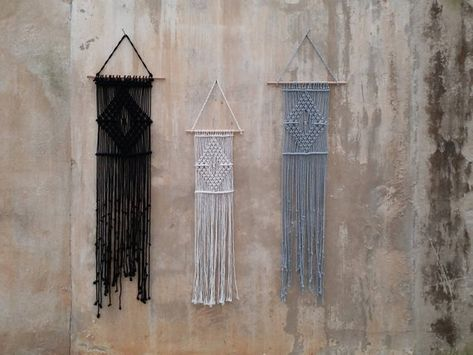 Macrame Wall Hanging Black White Decor Gifts For Women Wholesale