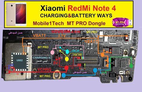 Xiaomi Redmi Note 4 Battery Connector Terminal Jumper Ways Xiaomi Iphone Solution Smartphone Repair