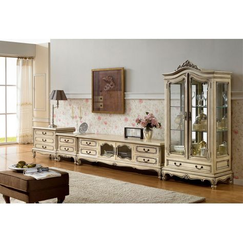 French Country Display Cabinet White | French Furniture | Mahogany |  Furniture painting ideas | Pinterest | French furniture, Display cabinets  and French ... - French Country Display Cabinet White French Furniture Mahogany
